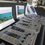 The Great Fiji Shark Count logbook, posters, guide books and boards