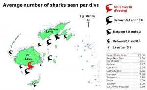 April 2012 Preliminary Great Fiji Shark Count results